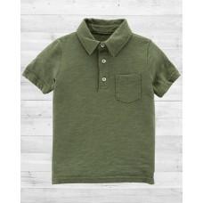 Зеленая футболка-поло Картерс