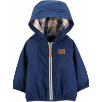 Куртка - ветровка синего цвета Картерс