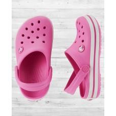 Сабо Crocs Crocband Clog розовые