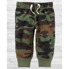 Утеплённые штанишки в стиле милитари Картерс