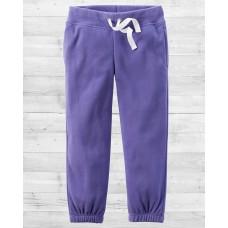 Флисовые фиолетовые штанишки Картерс