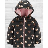 Куртка с капюшоном для девочки Картерс
