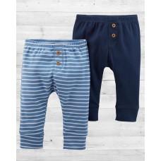 Комплект из 2-х стильных штанишек для малыша Картерс