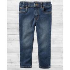 Синие джинсы скинни для мальчика Картерс