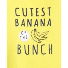 """Коттоновый комплект 3в1 """"Банановое настроение"""" Картерс"""