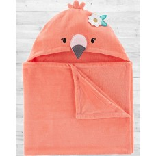 """Полотенце с капюшоном """"Фламинго"""" Картерс"""
