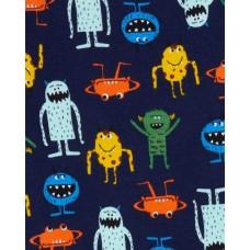 """Комплект коттоновых пижам 4в1 """"Пойдём спать!"""" Картерс"""
