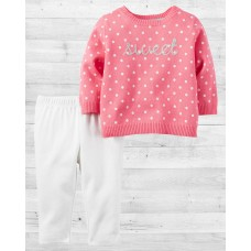 Комплект 2в1 свитер и штанишки SWEET Картерс