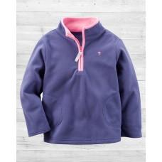 Флисовая фиолетовая кофта Картерс