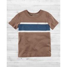 Стильная футболка с кармашком Картерс