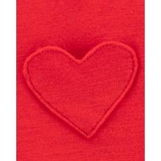 """Комплект 2в1 платье и ромпер """"Красное сердечко"""" Картерс"""