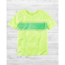 Неоновая футболка с кармашком Картерс