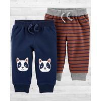 """Стильные штанишки для мальчика """"Бульдожки"""" Картерс"""