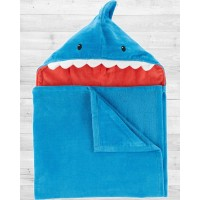 "Полотенце с капюшоном ""Синяя акула"" Картерс"