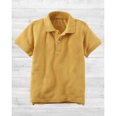 Желтая футболка-поло Картерс