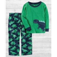 """Пижама с флисовыми штанами """"Динозаврик"""" Картерс"""