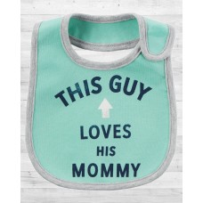 "Слюнявчик Картерс ""Loves His Mommy"""