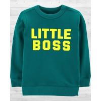 "Стильный пуловер ""Little boss"" Картерс"