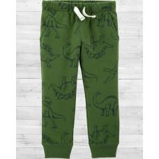 """Плотные коттоновые штаны """"Динозавры"""" Картерс"""