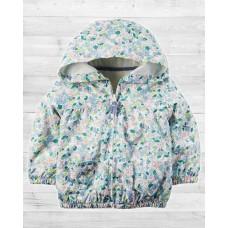 Демисезонная куртка с цветочным принтом Картерс