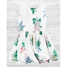 Цветочное сатиновое платье Картерс