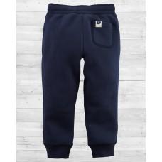 Утеплённые штанишки на флисе синие Картерс