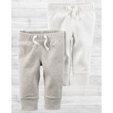 Комплект из 2-х светлых штанишек Картерс