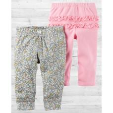 "Комплект из 2-х штанишек для девочки ""Милашка"" Картерс"