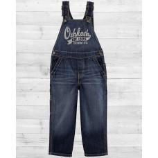 Комбинезон ОшКош из джинсовой ткани тёмно-синего цвета