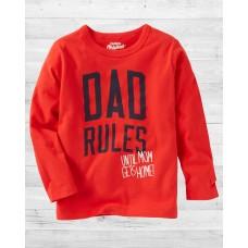 """Реглан """"DAD rules"""" ОшКош"""