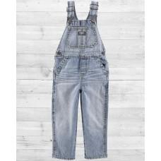 Комбинезон ОшКош из джинсовой ткани  голубого цвета