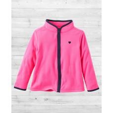 Флисовая ярко-розовая кофта ОшКош