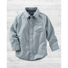 Рубашка в мелкую полосочку ОшКош B'Gosh