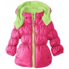 Теплая куртка для девочки Pink Platinum